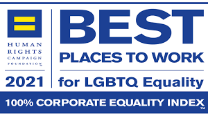 2020 Best Places to Work. 100% Corporate Equality Index