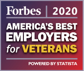 Forbes 2020 America's Best Employers for Veterans Powered by Statista