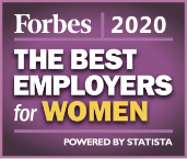 Forbes 2020 The Best Employers for Women Powered by Statista